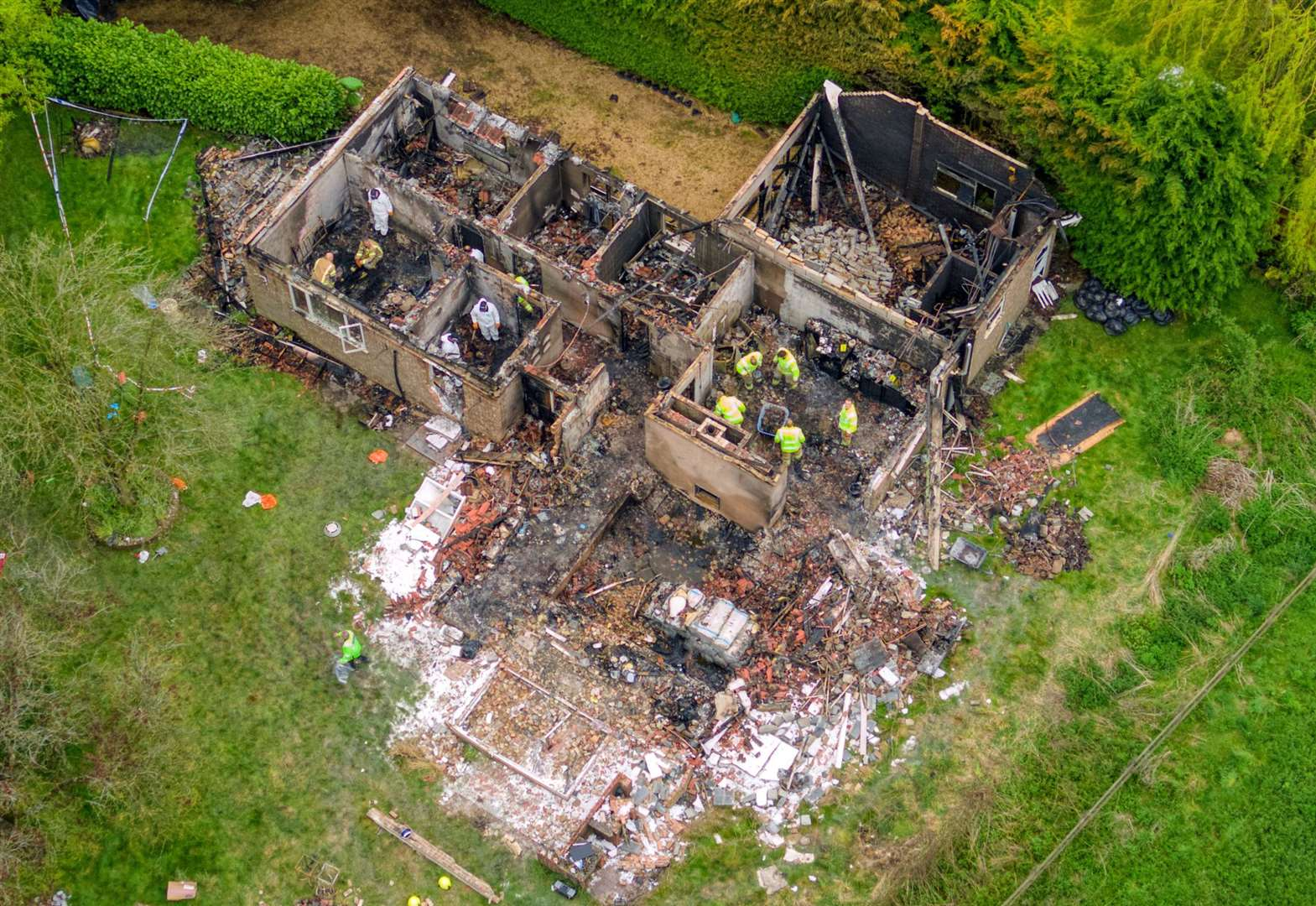 Formal identification yet to take place on Lidgate blast victims