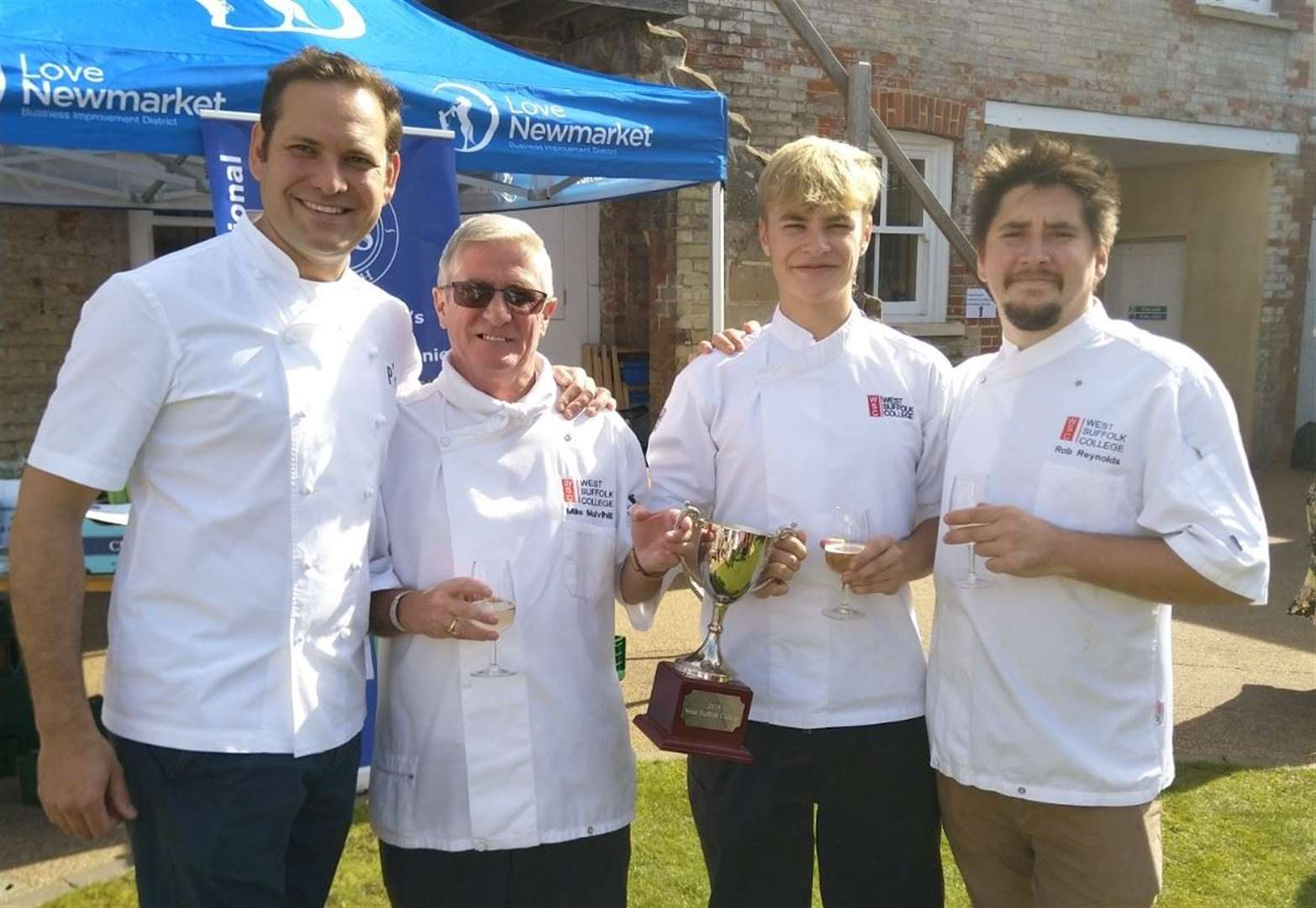 Young chef earns a royal experience