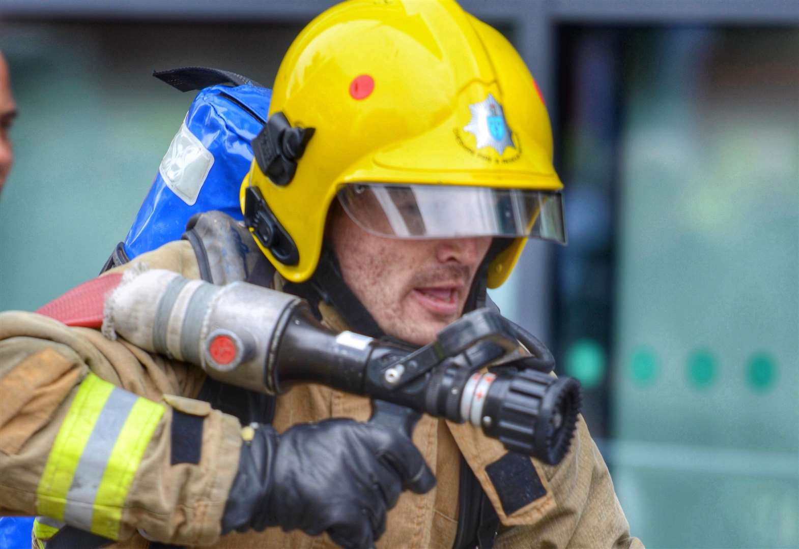 Firefighters ready for the ultimate challenge