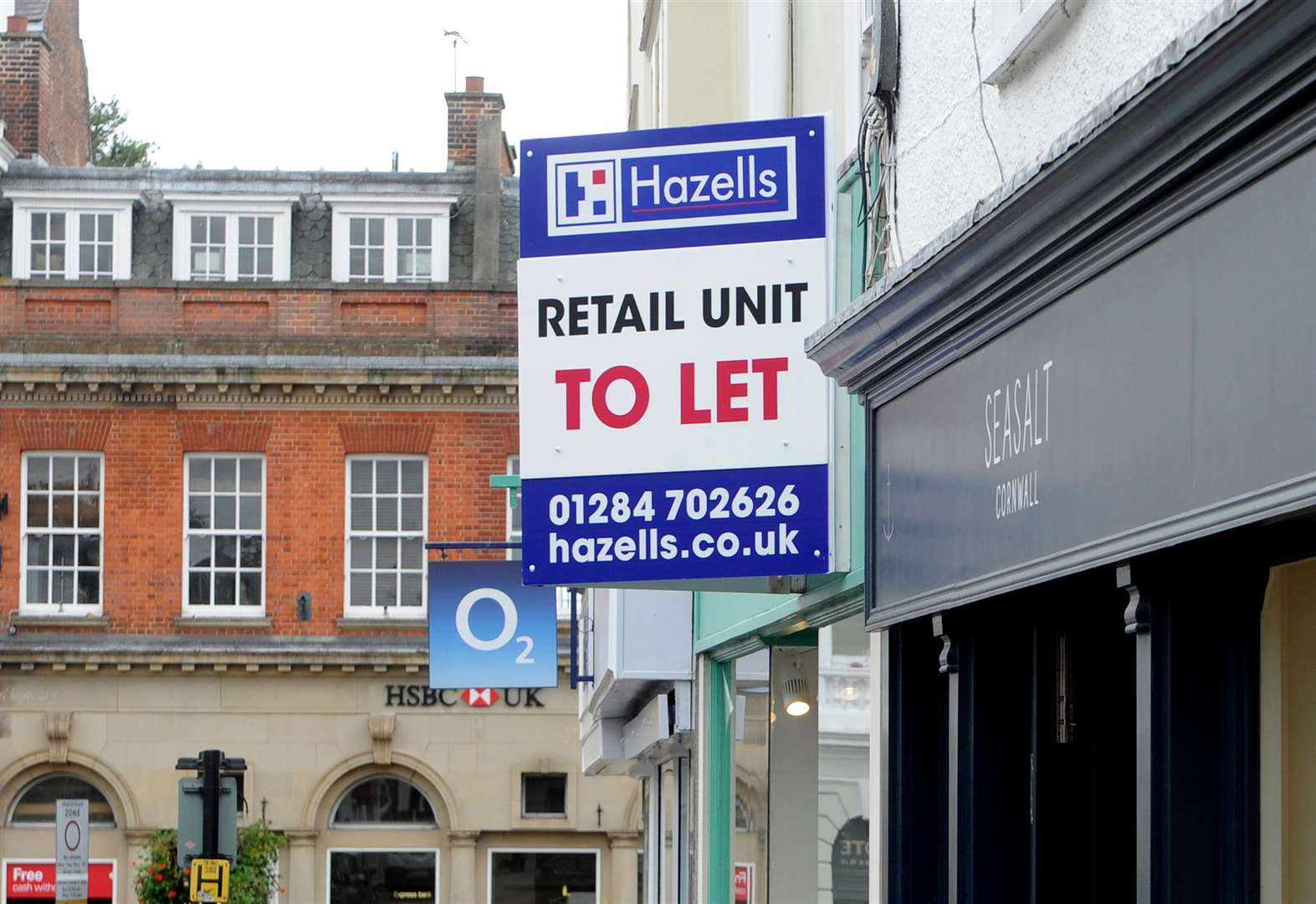 'Concern' over empty shops in town centre