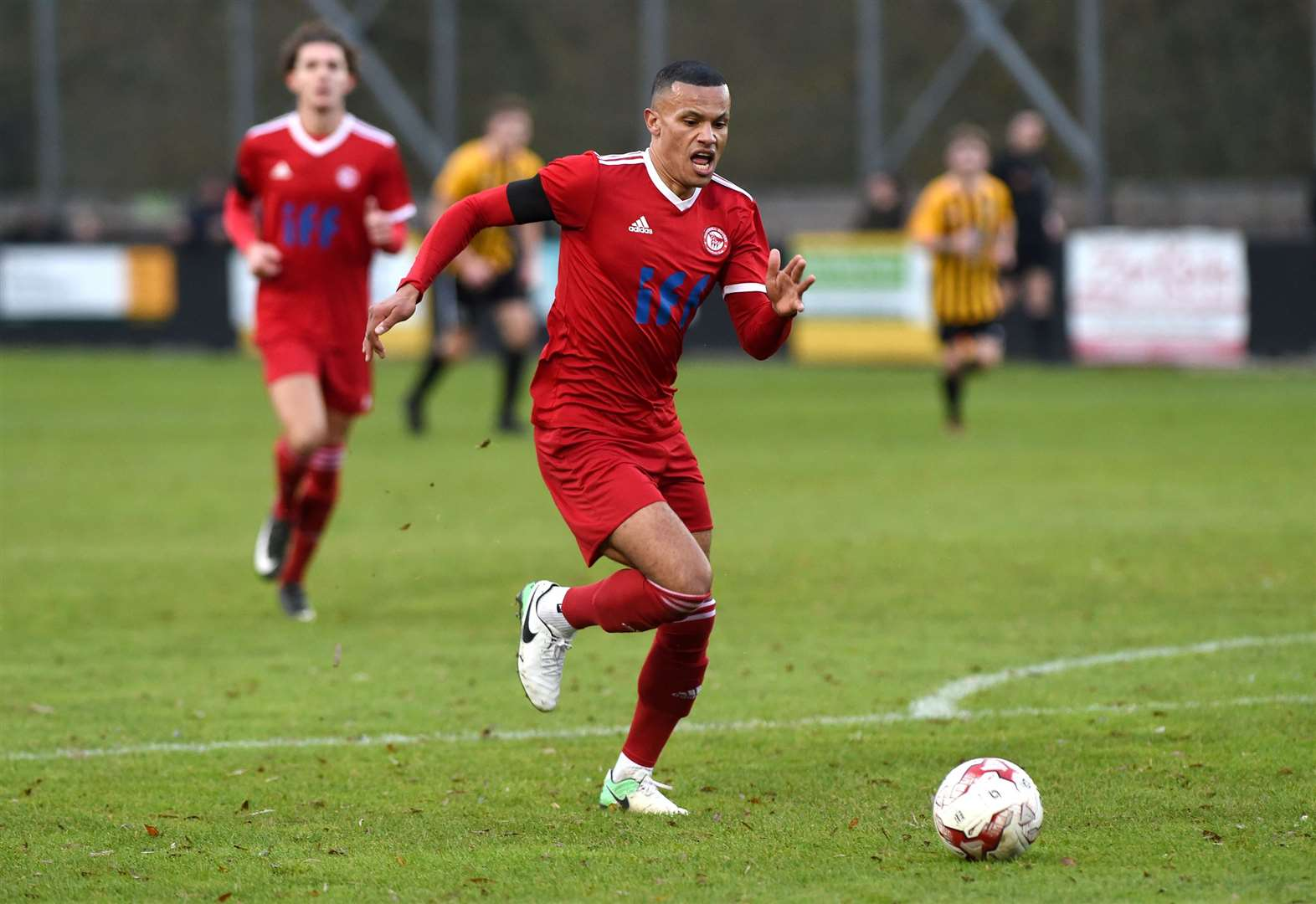 THURLOW NUNN: Haverhill Rovers defender moves to Hadleigh United