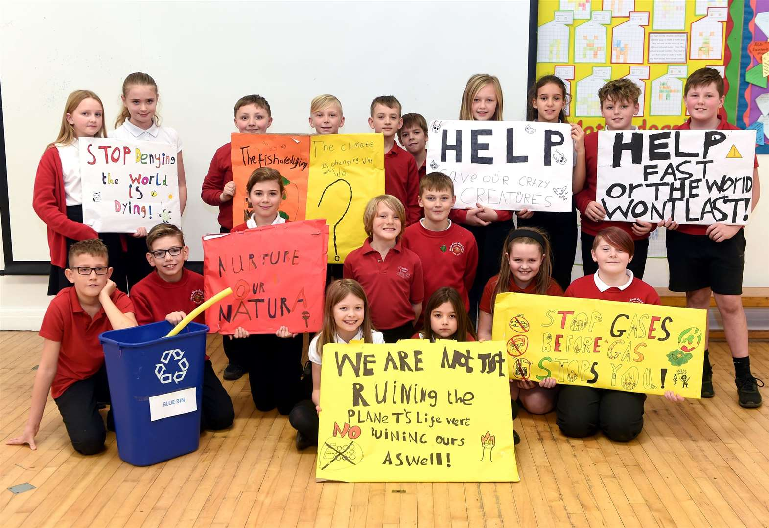 Academy pupils lead the way with climate awareness action