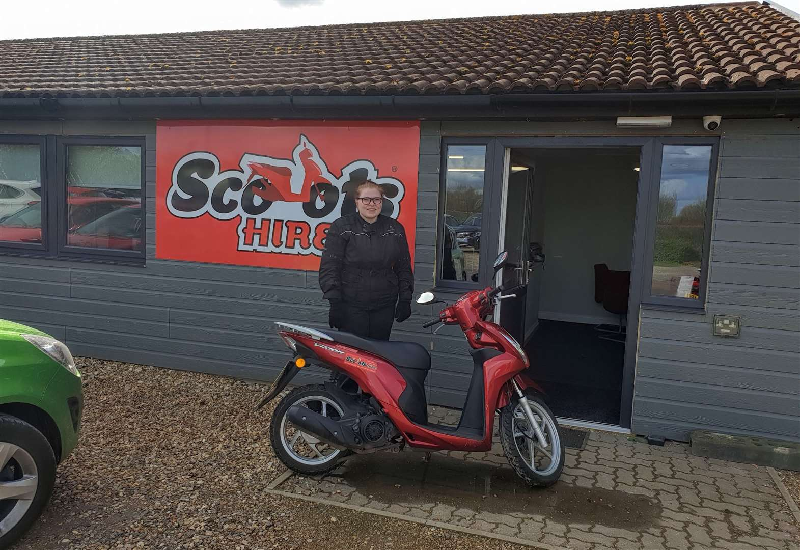 Scoots Hire costs as little or less to use than a bus fare might