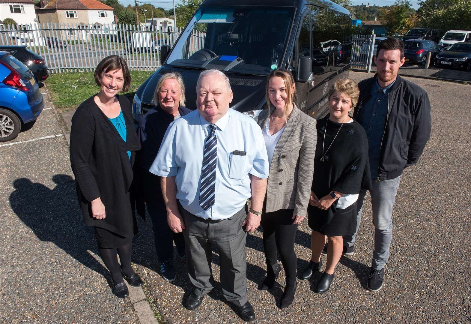 Sible Hedingham transport firm marks 30 years in business