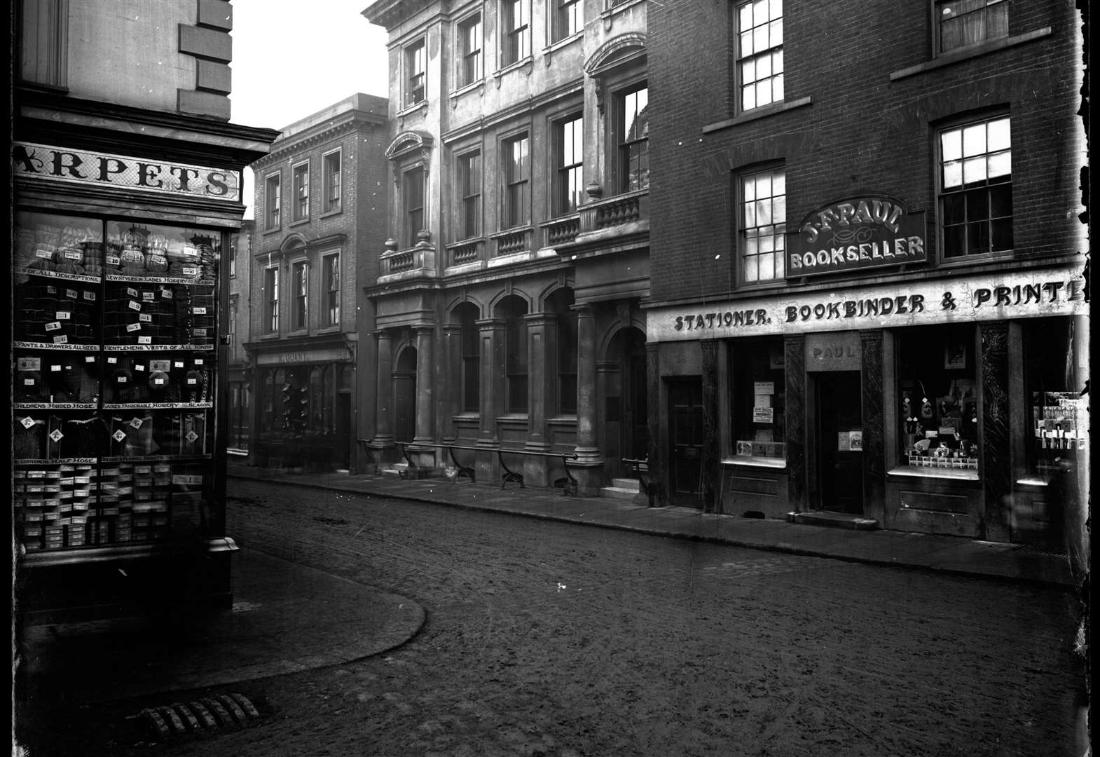 NOSTALGIA: 49-52 Abbeygate Street 1870-1890, from the Spanton Jarman collection