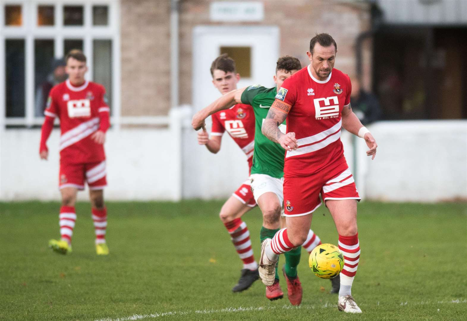 AFC return to winning ways