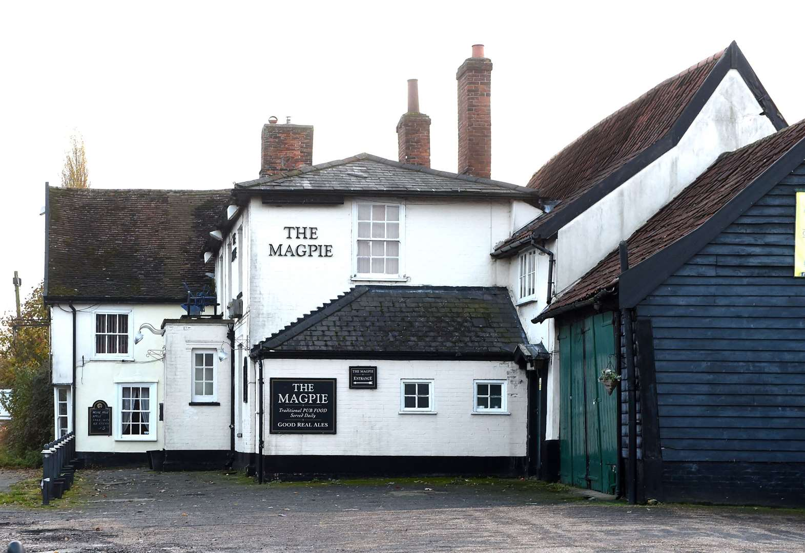 Little Stonham death: Woman named following murder investigation at Magpie Inn