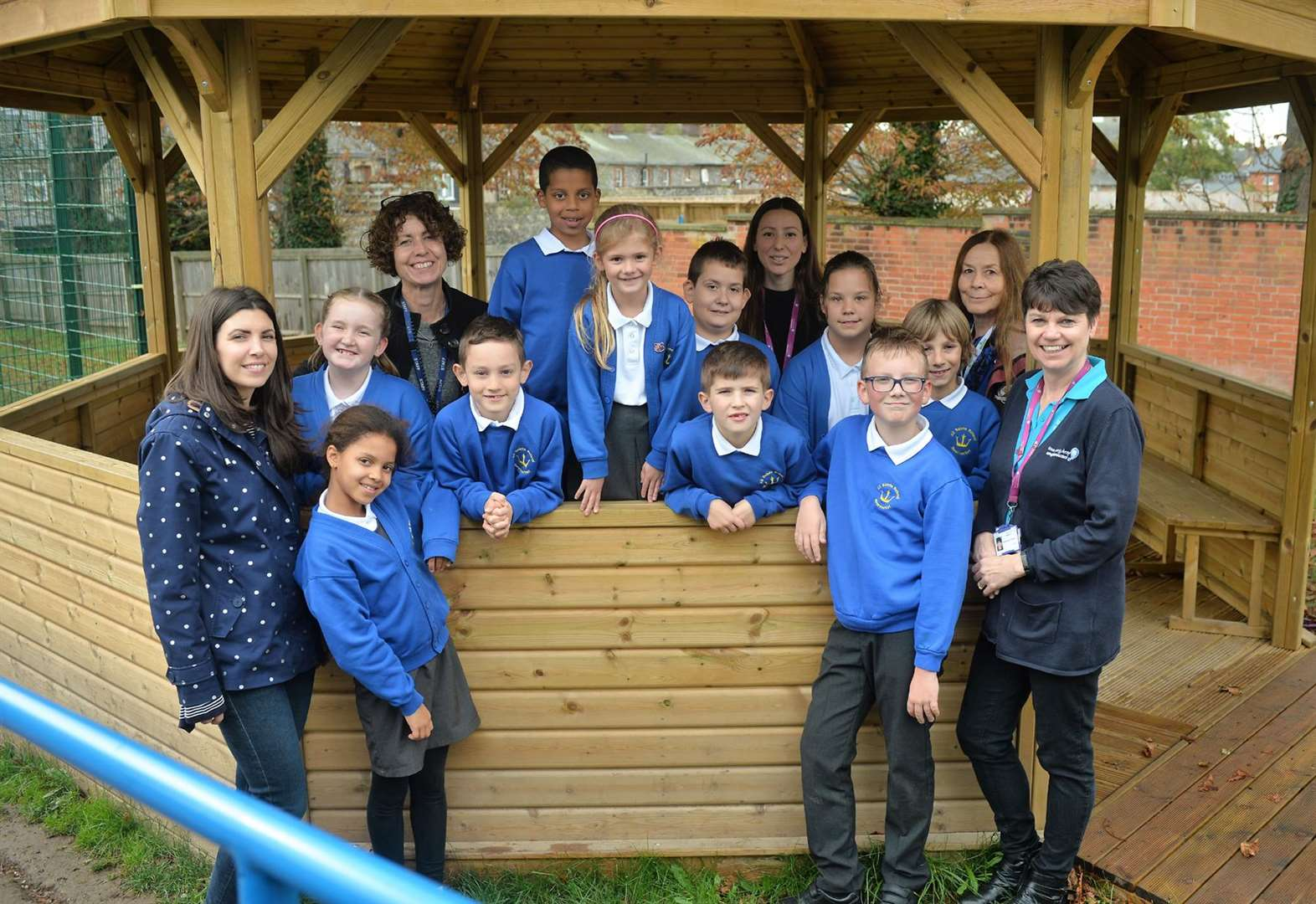 Newmarket primary school taps into new drainage scheme