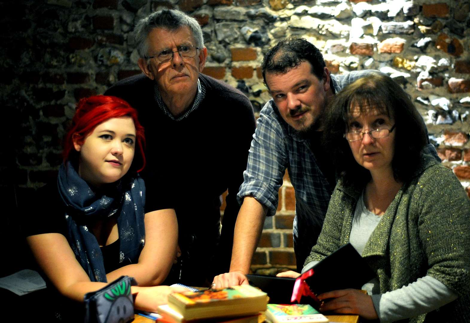 REVIEW: QuirkHouse Theatre Company's Talking in the Library