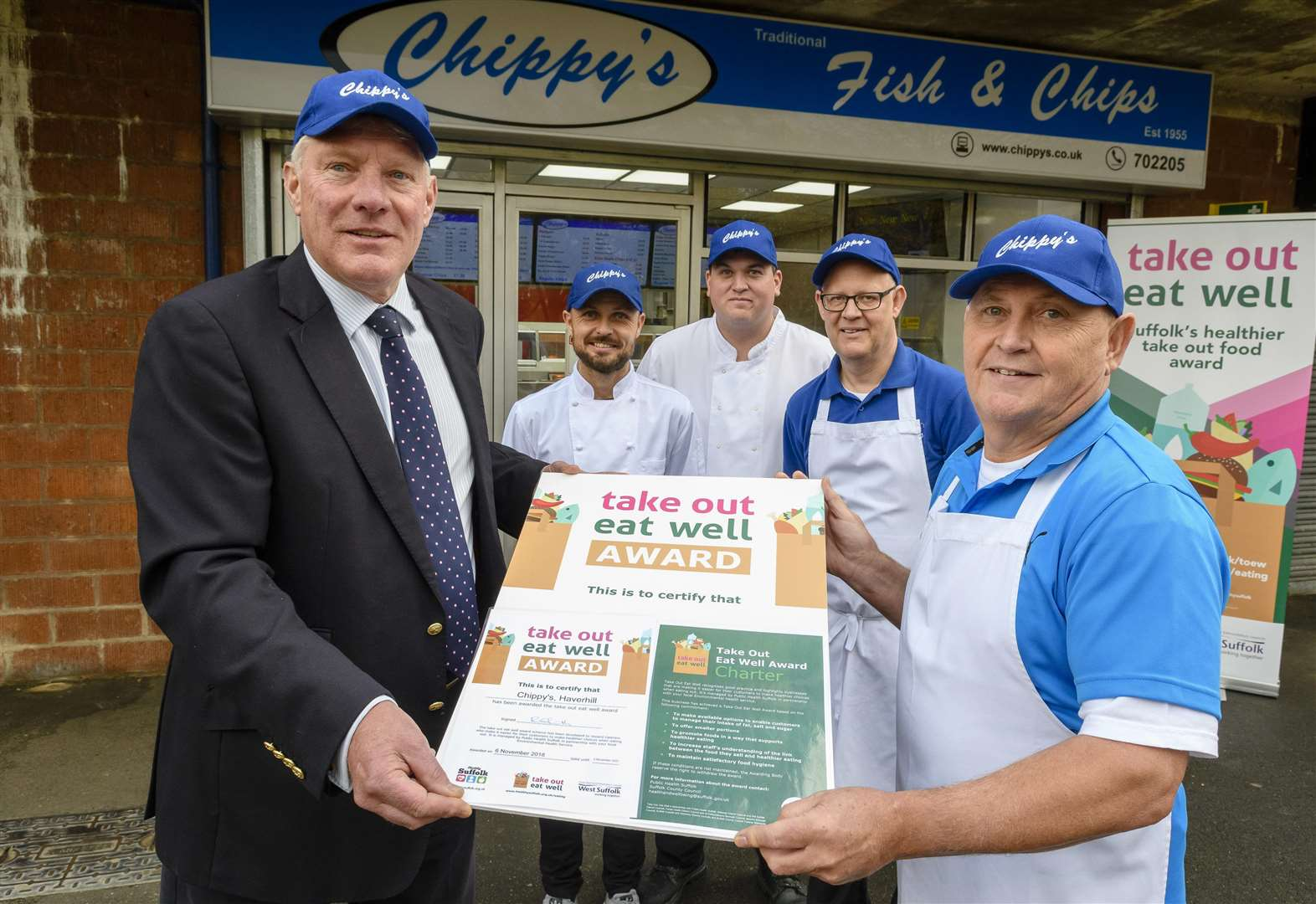 Haverhill restaurants rewarded for their commitment to healthy cooking