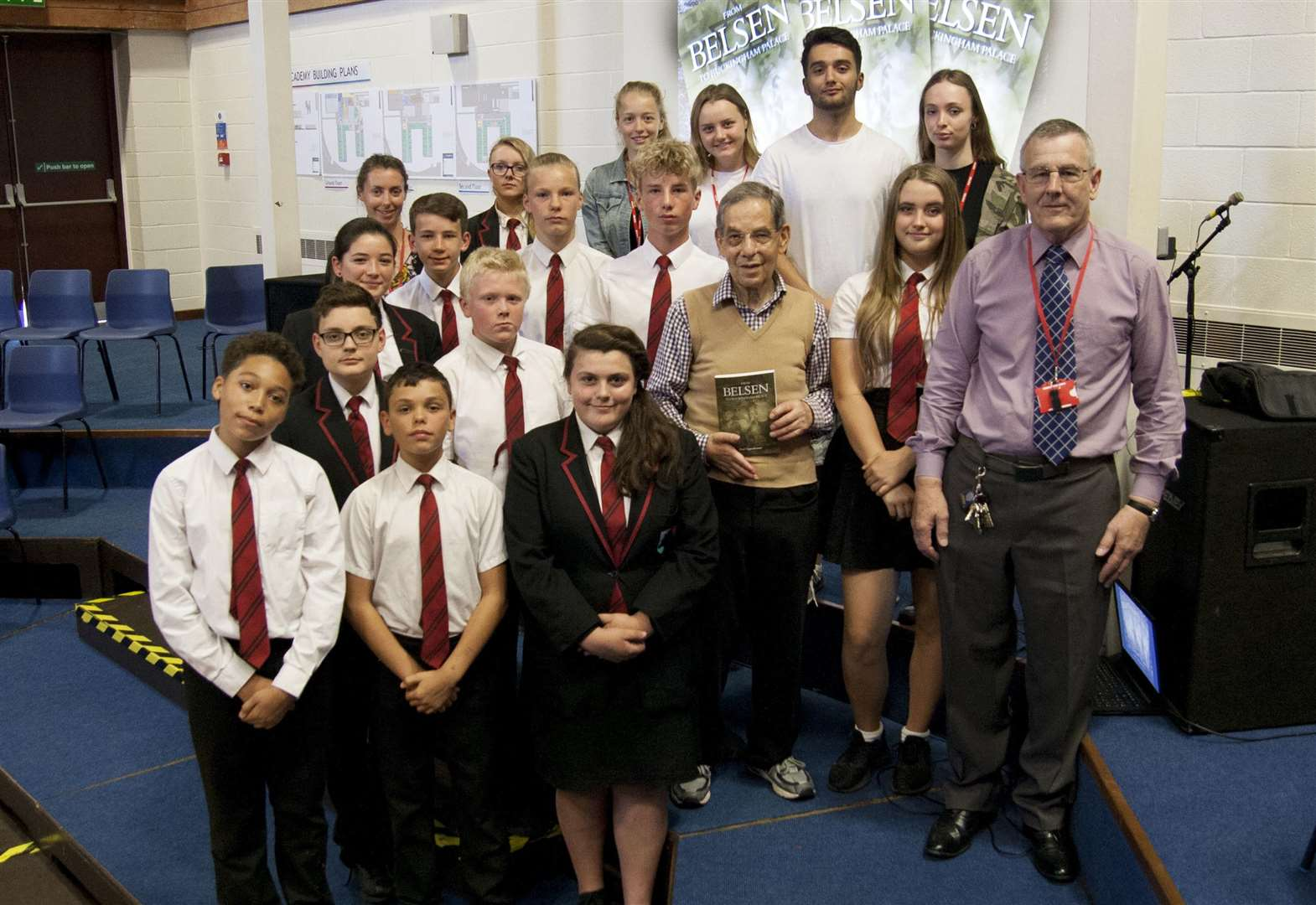Mildenhall students learn about Holocaust from Rudi
