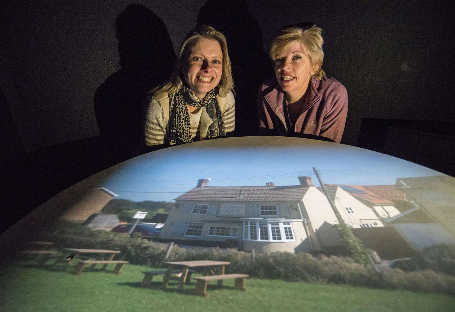FEATURE: Art project gives new perspective at Gestingthorpe pub