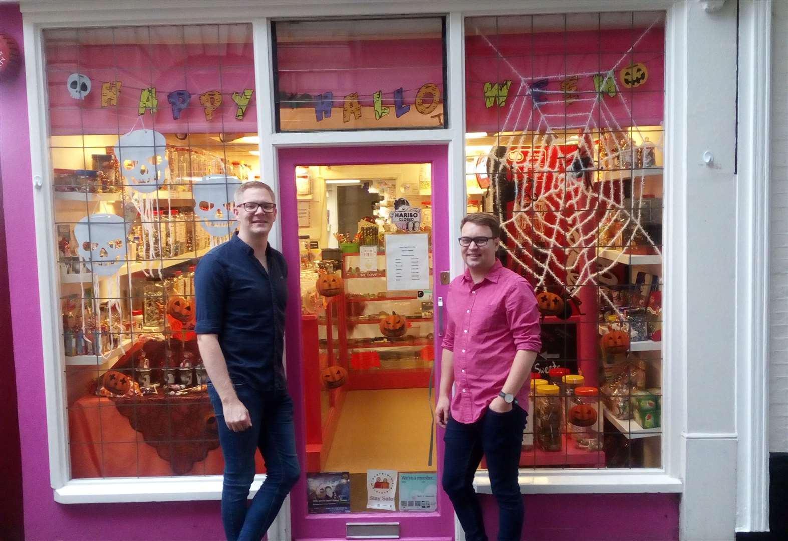 Meet the new owners of Auntie Pam's sweet shop