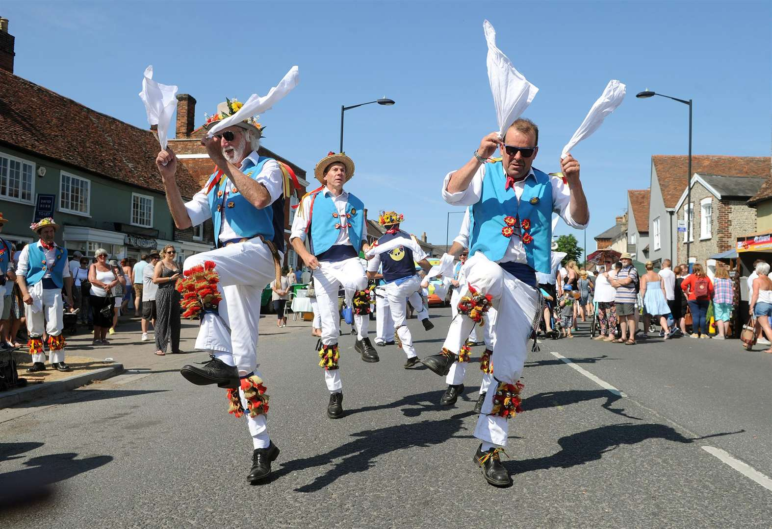 PICTURES: Sunshine draws thousands to Long Melford Street Fair