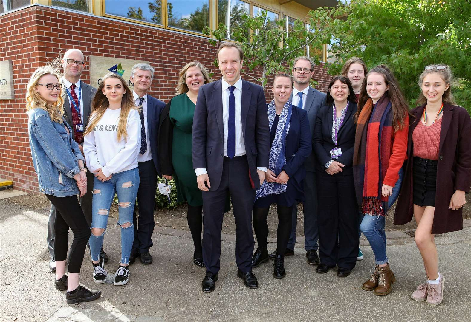 New-look Haverhill Community Sixth form impresses town's MP