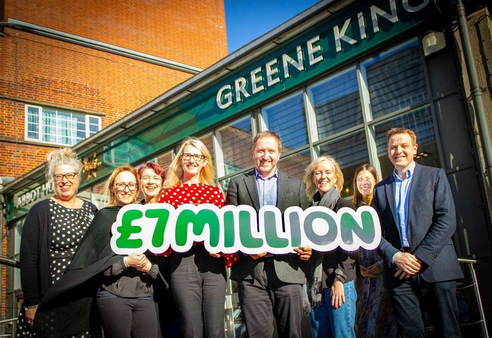Bury St Edmunds pubs giant hits £7 million fund-raising milestone for cancer charity