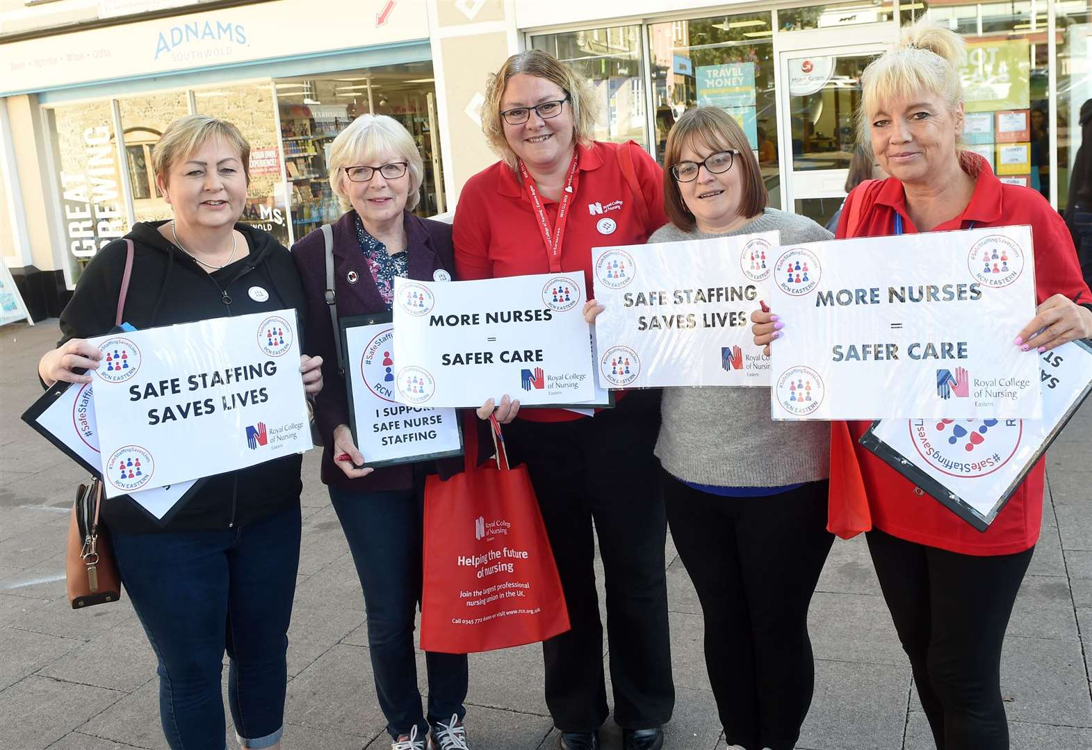 Why nurses were protesting today in Bury St Edmunds