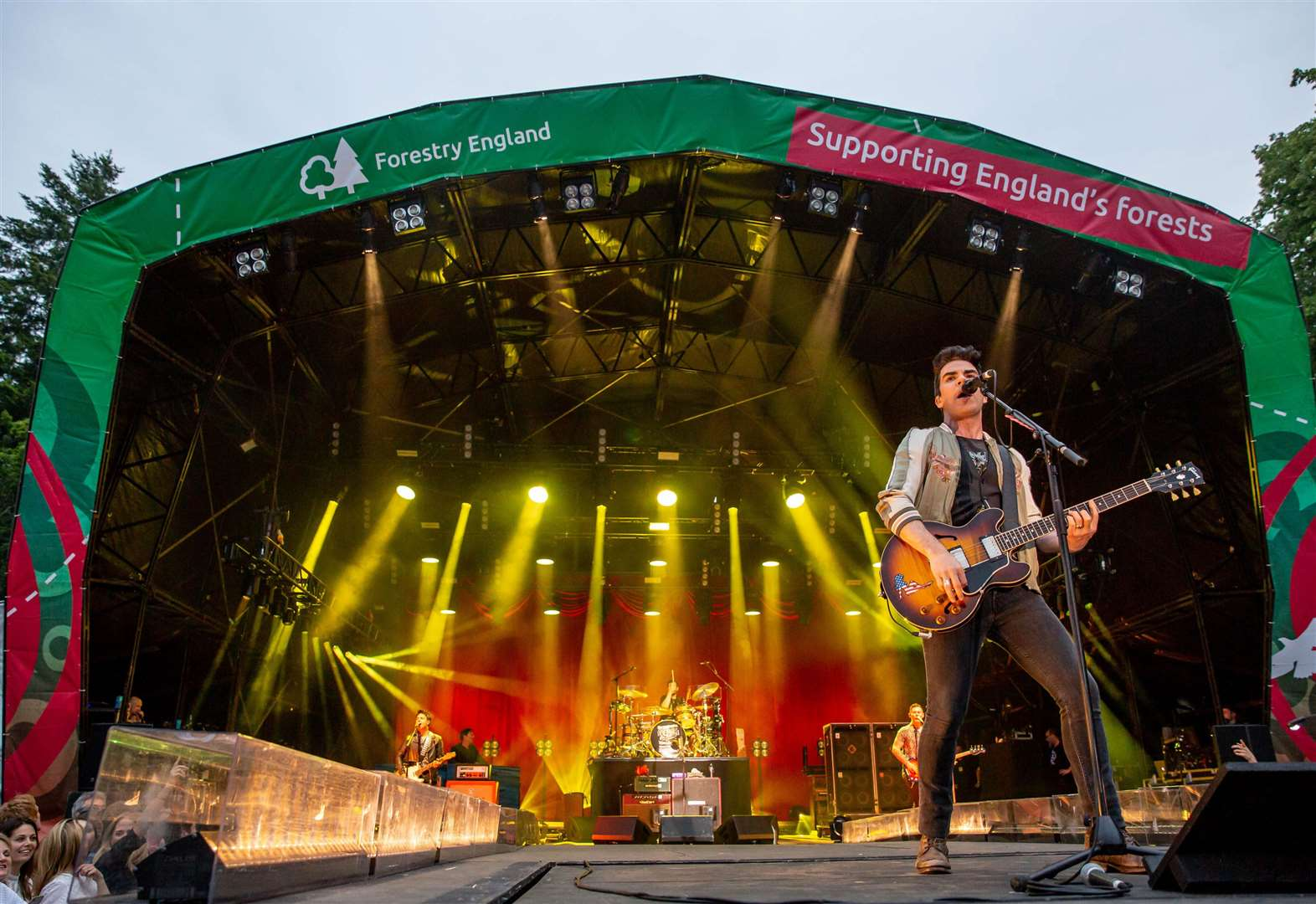 REVIEW: Sensational Stereophonics close Forestry England's Forest Live Thetford concert series 2019