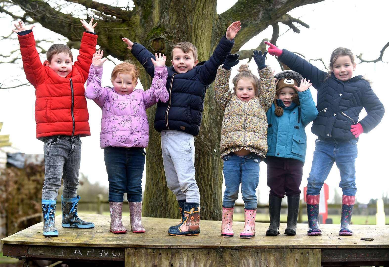 PICTURES: Youngsters explore outdoors with half-term nature hunt at Kentwell Hall