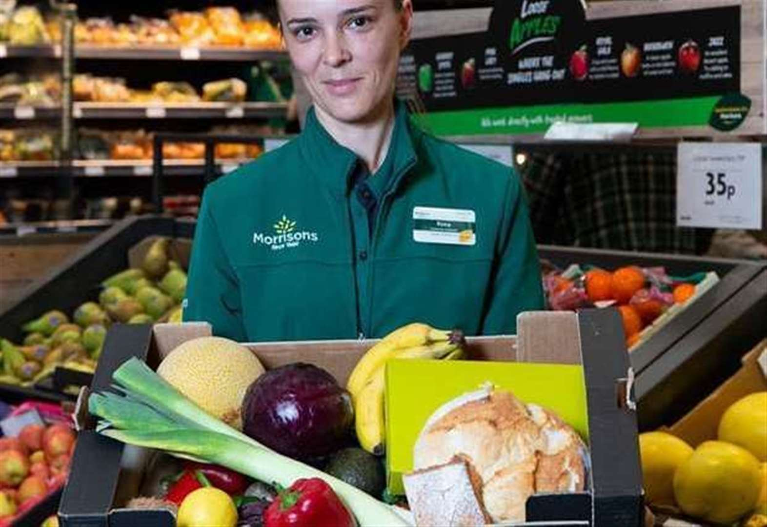 Morrisons becomes first supermarket to use 'Too Good to Go' food waste app