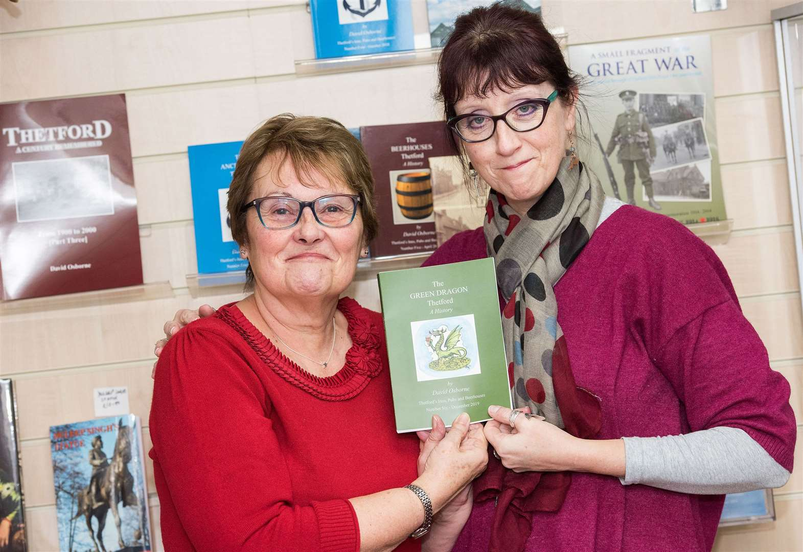 Thetford historian remembered with book publishing