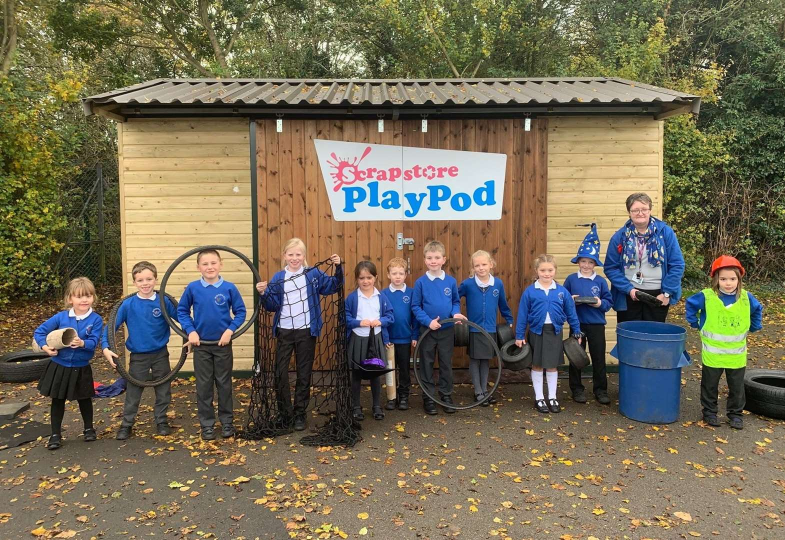 Recycling scheme launches at Sudbury school to raise pupil awareness