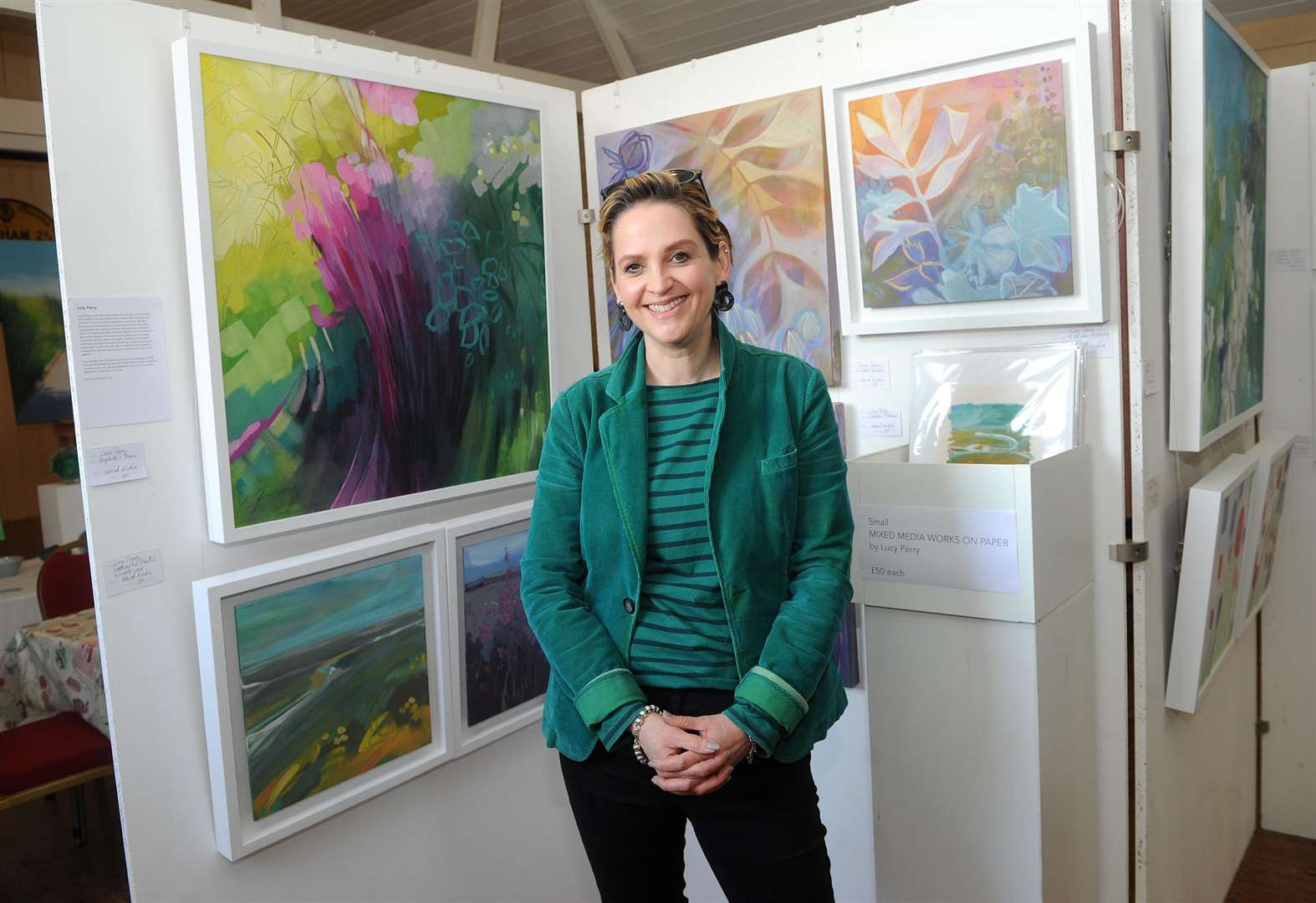 PICTURES: Thorpe Morieux exhibition celebrates art and nature