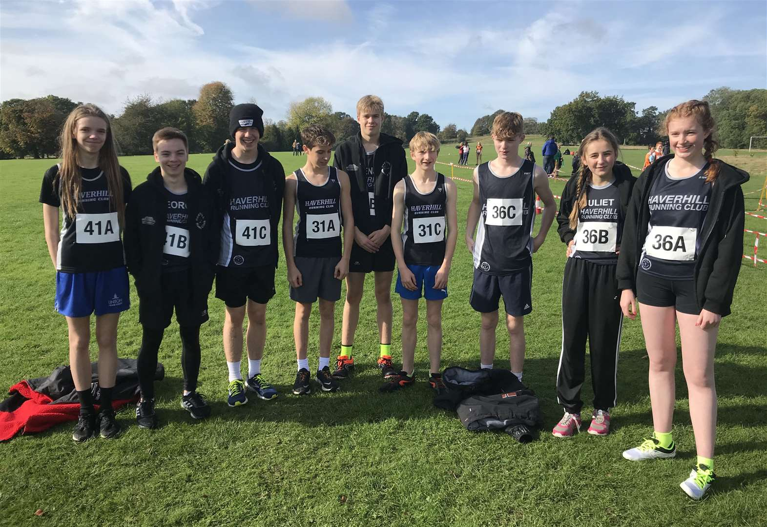 Juniors take part in Ipswich Jaffa relay for first ever time