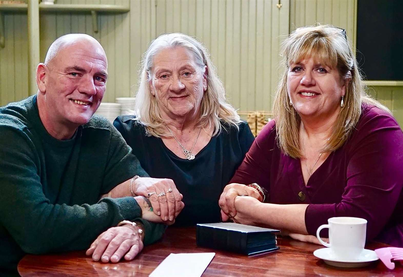 Long lost family are reunited in town after decades apart