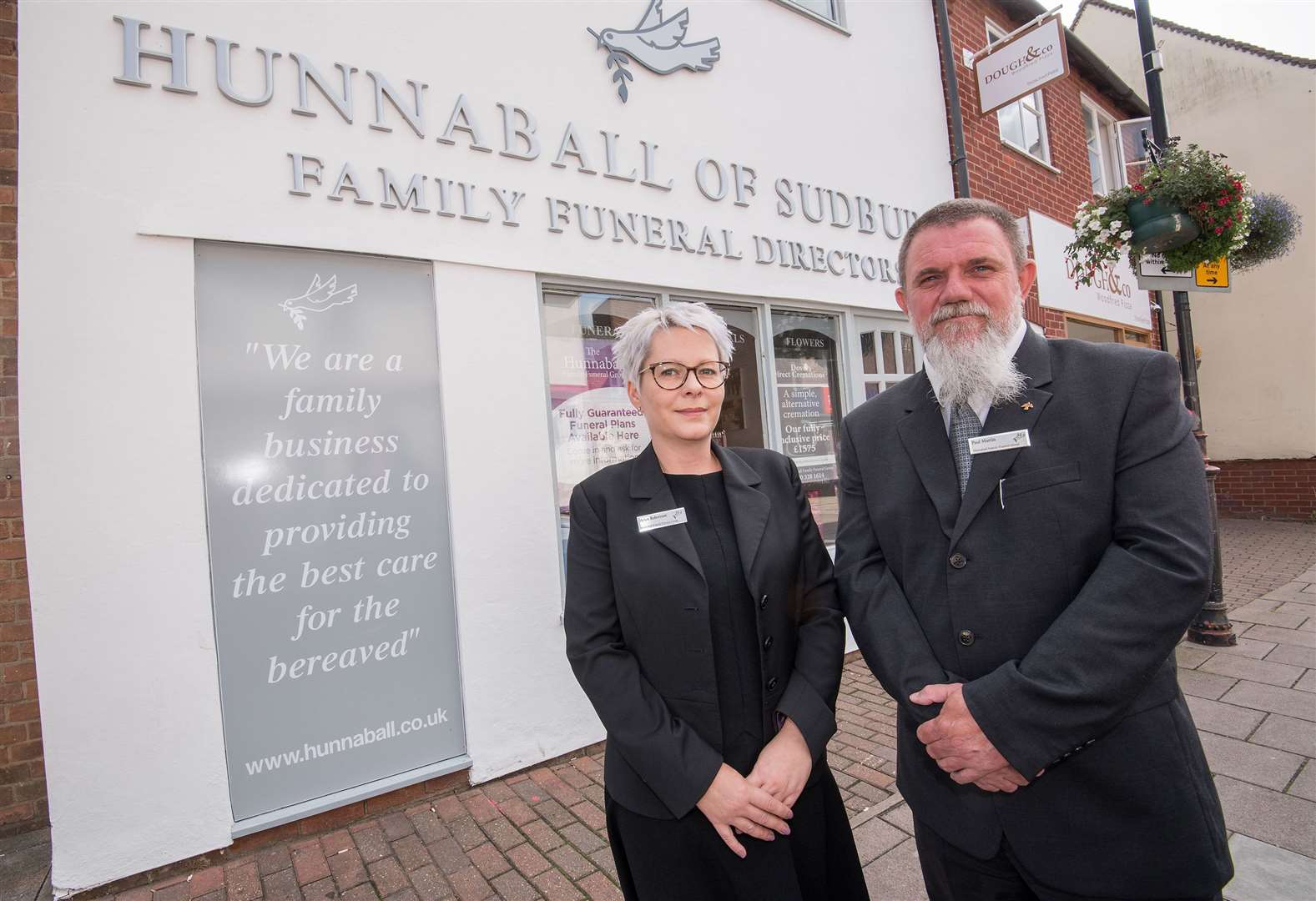 Hunnaball Funeral Group marks completion of renovation project at Sudbury branch