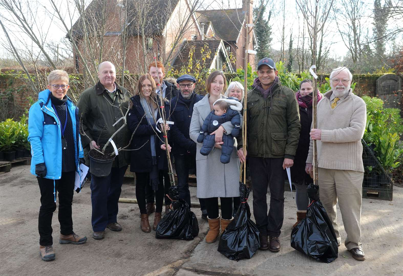 Tree for Life scheme launches in Babergh to help boost biodiversity
