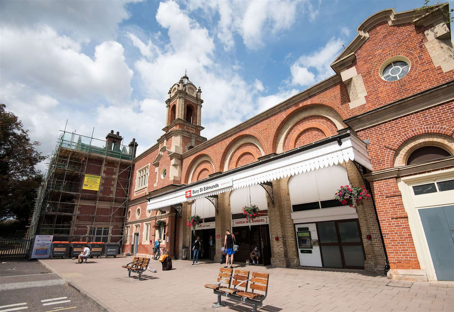 Bury station is getting a new entrance and side exit