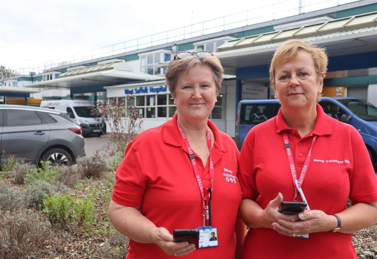 Praise for time-saving West Suffolk Hospital volunteer team