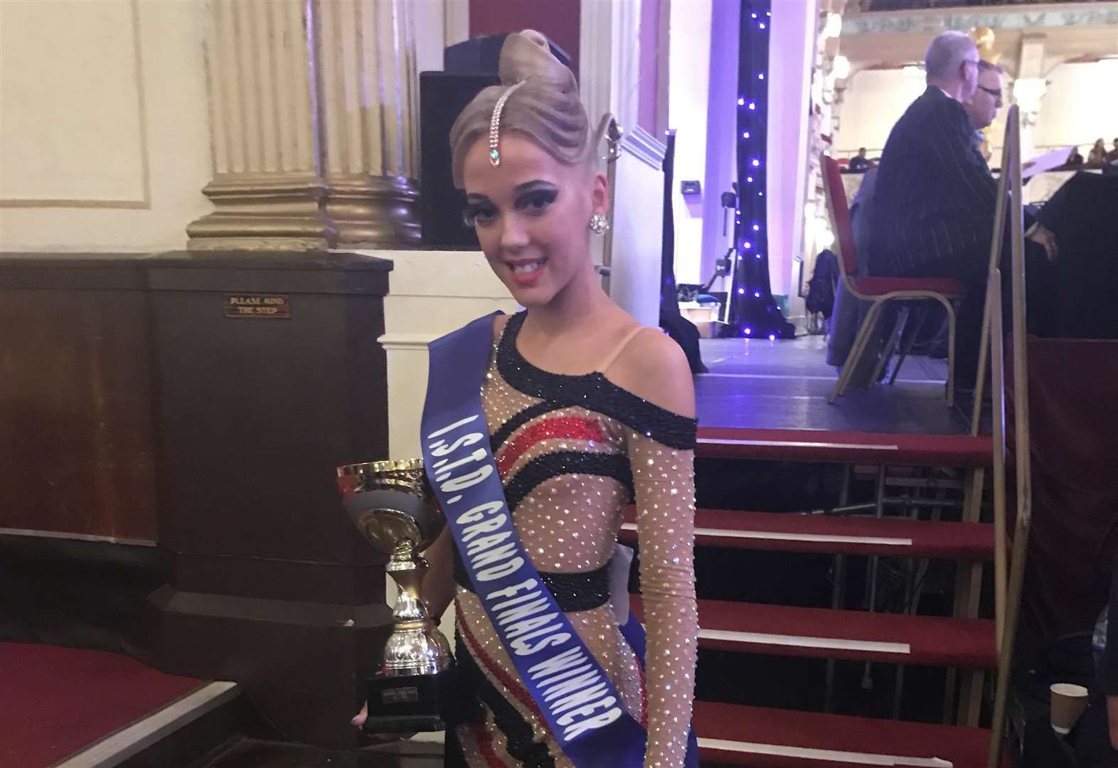 National glory for teen dancer
