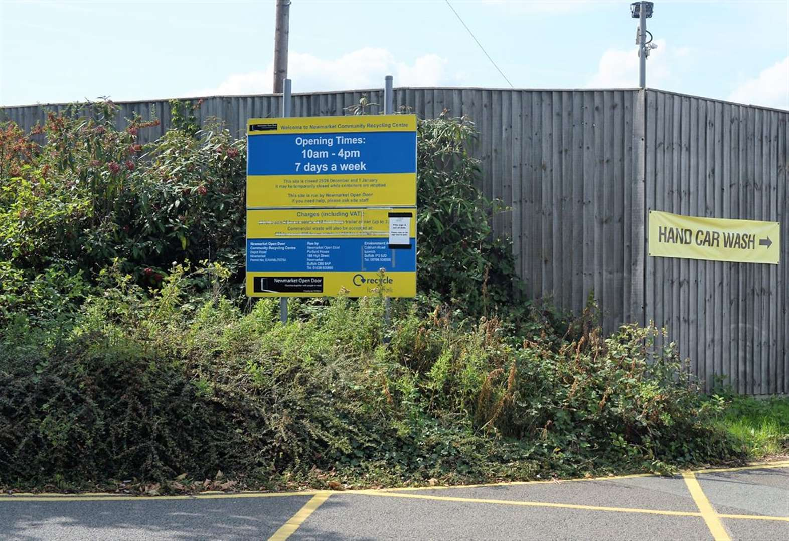 'Reopen Newmarket's recycling centre' urges retired senior councillor
