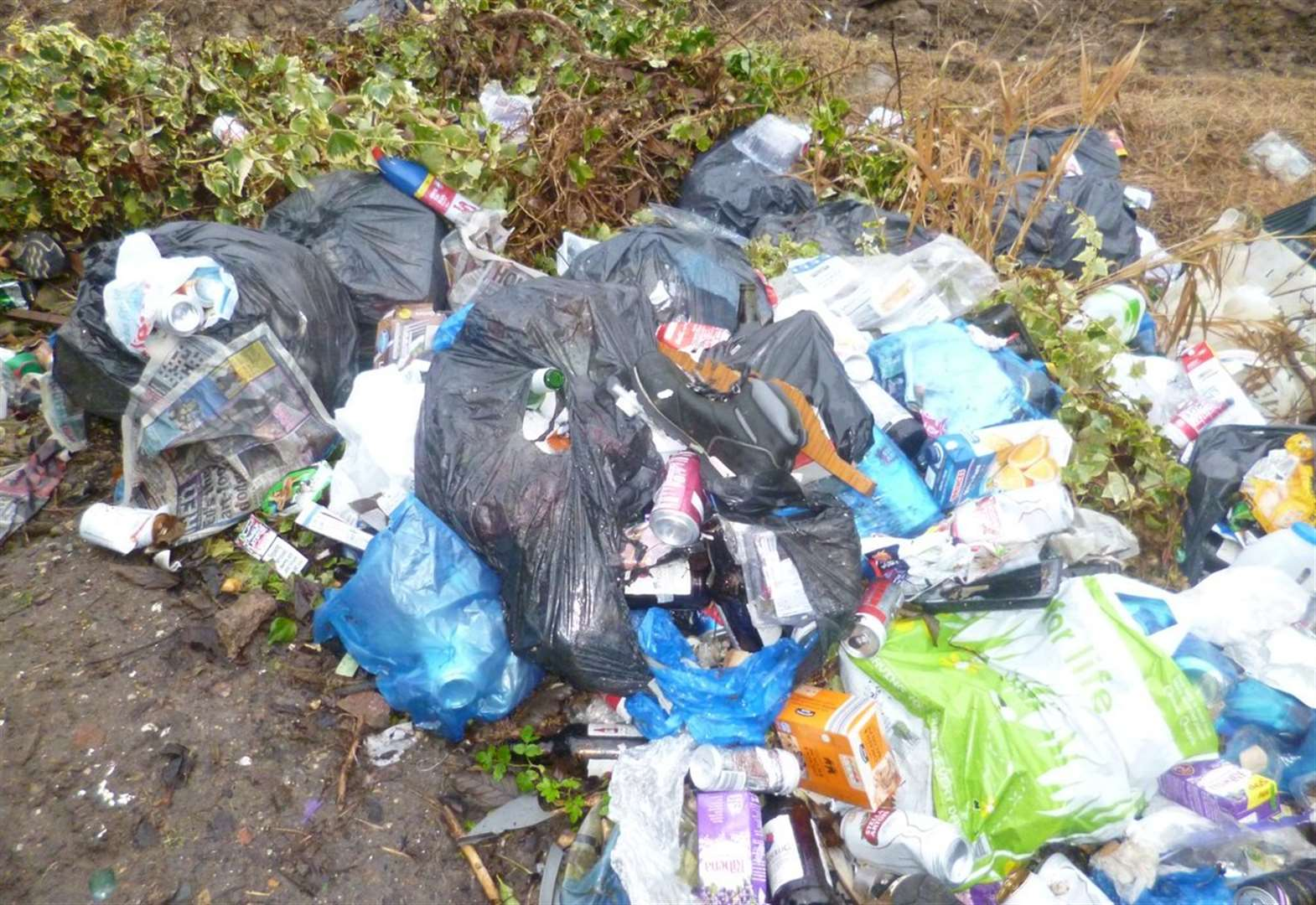 Fly-tipping incidents on the rise in Babergh