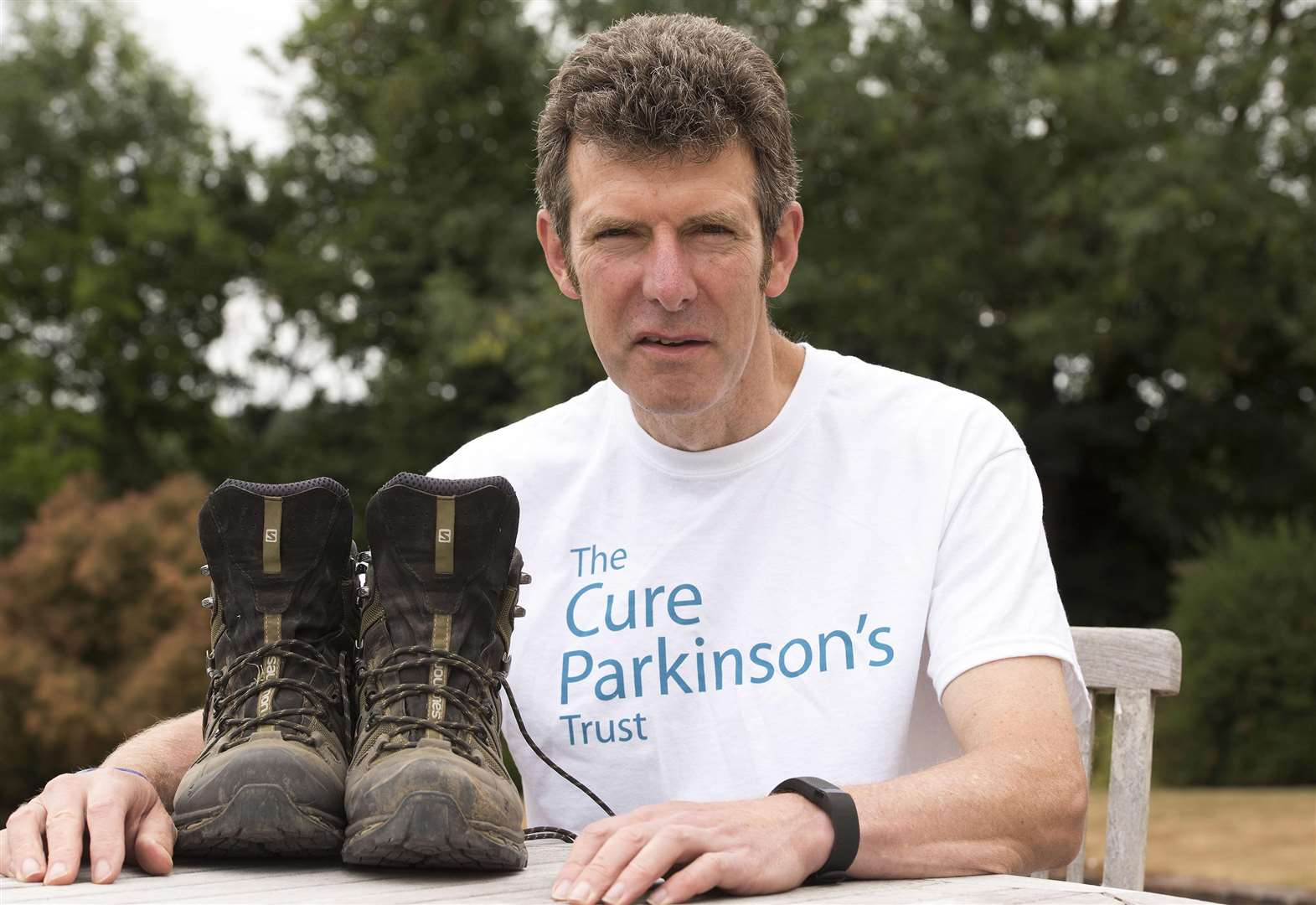Stoke-by-Nayland man with Parkinson's set to cross Hadrian's Wall for charity