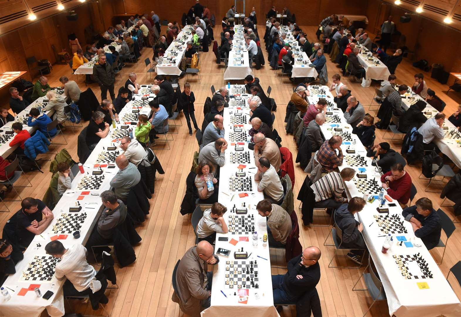 The 37th Chess Congress welcomes record numbers to The Apex event