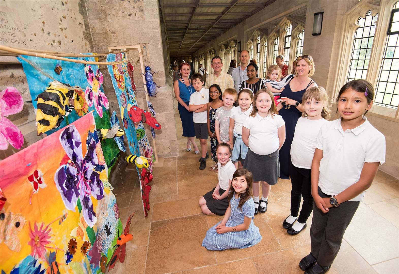 Take a look at community arts project at St Edmundsbury Cathedral