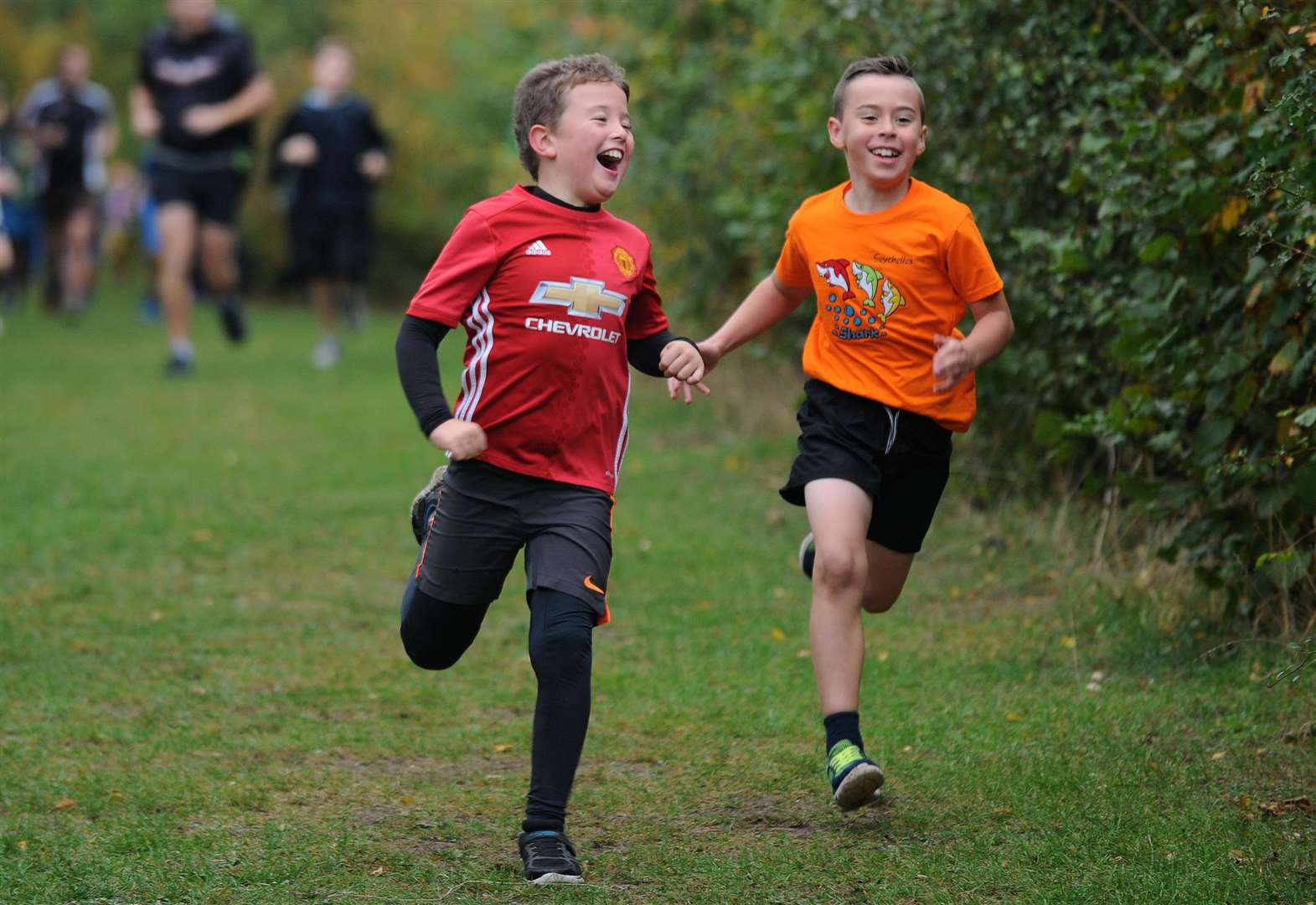 Crazy costumes as Bury St Edmunds stages its 100th junior parkrun