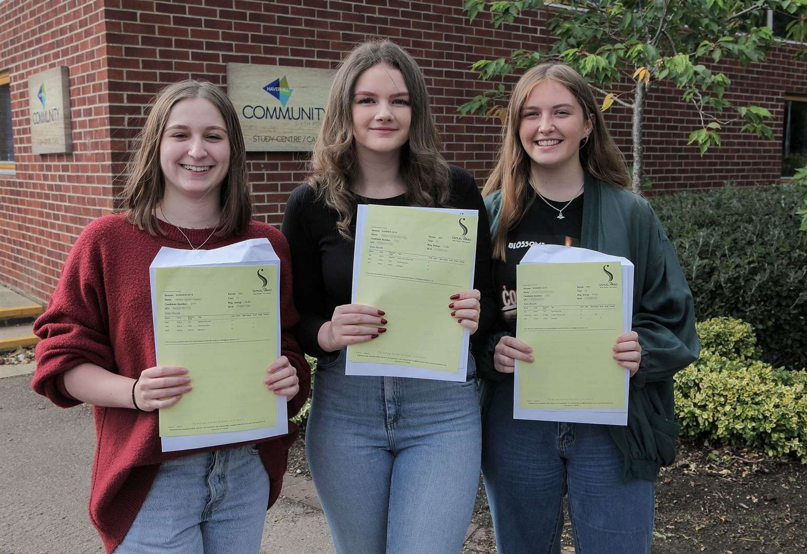 A-LEVEL RESULTS: Haverhill Community Sixth Form raises its game again