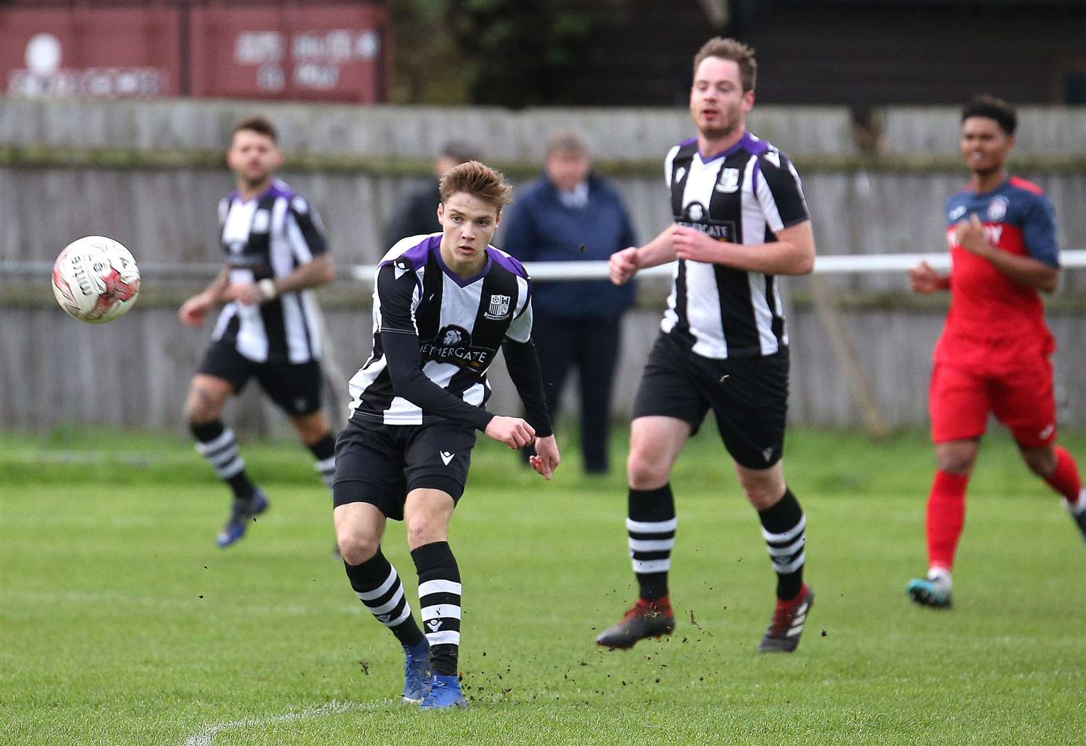 MATCH REPORT: Long Melford go second with home draw