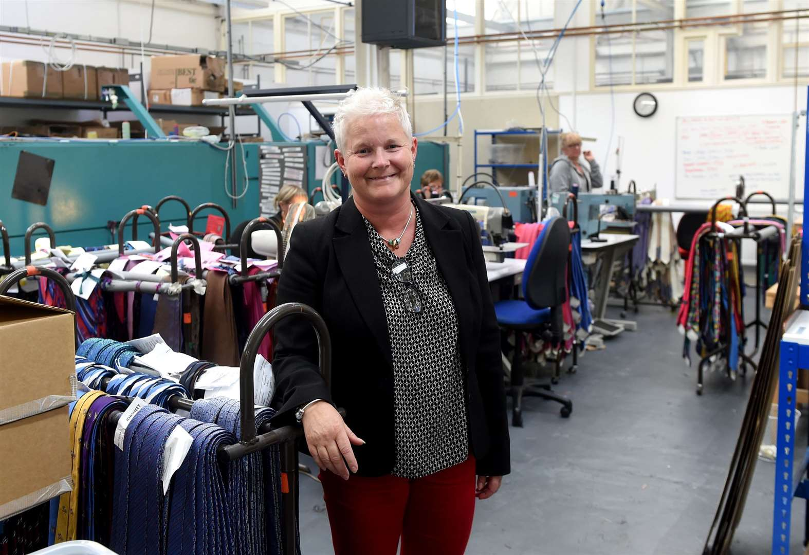 Vanners relocates tie-making business to Sudbury to bring all operations under one roof