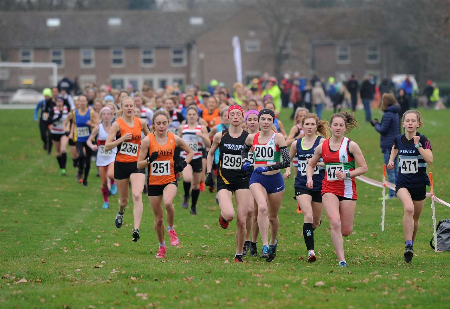 Moyes unleashes Team GB class on Suffolk cross country event