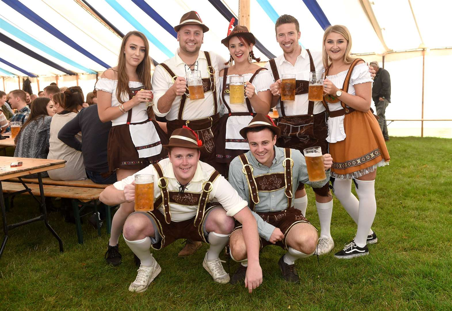 Oktoberfest enjoyed by 1,000 in Bury
