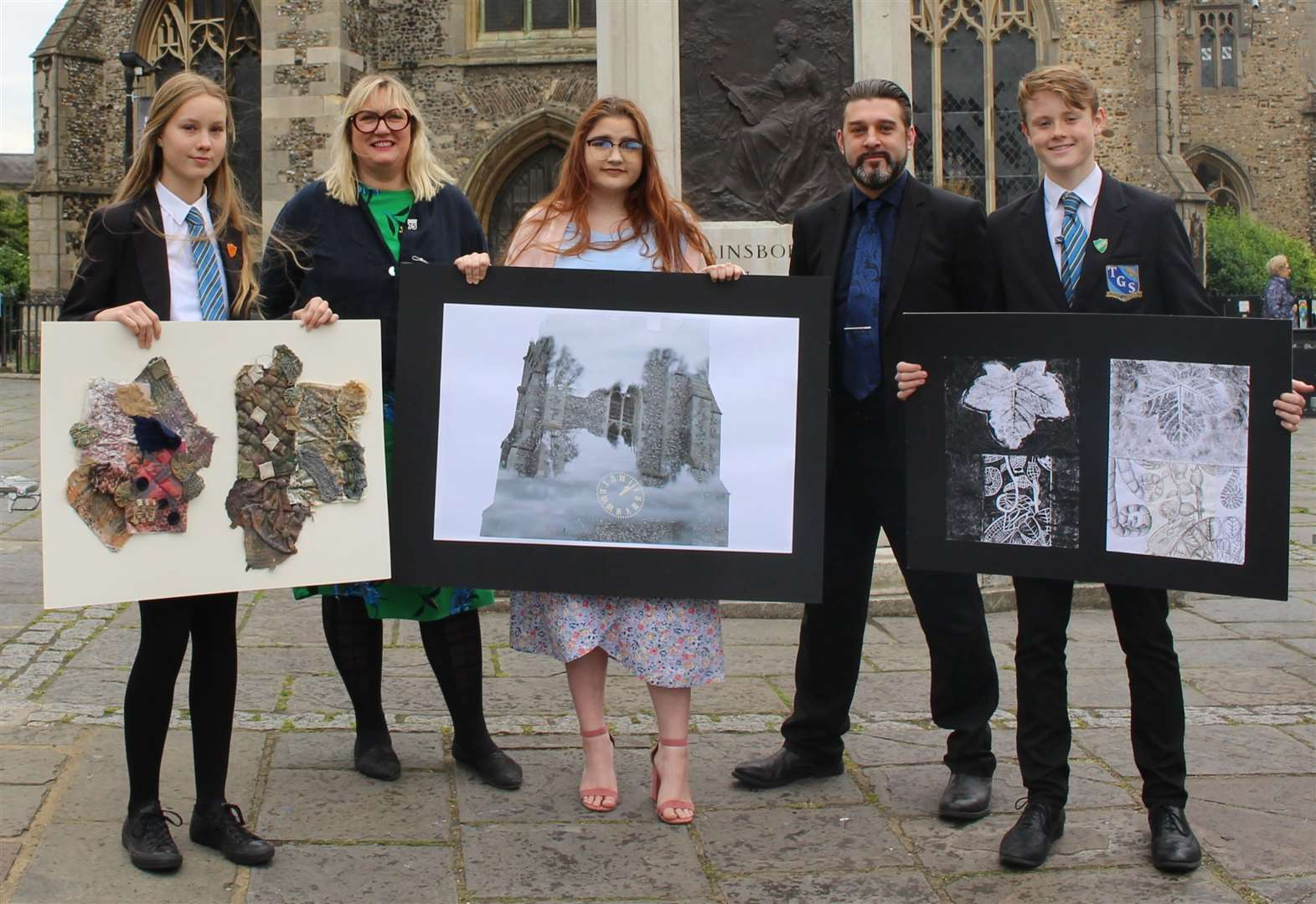 Sudbury businesses to showcase art by Thomas Gainsborough School students