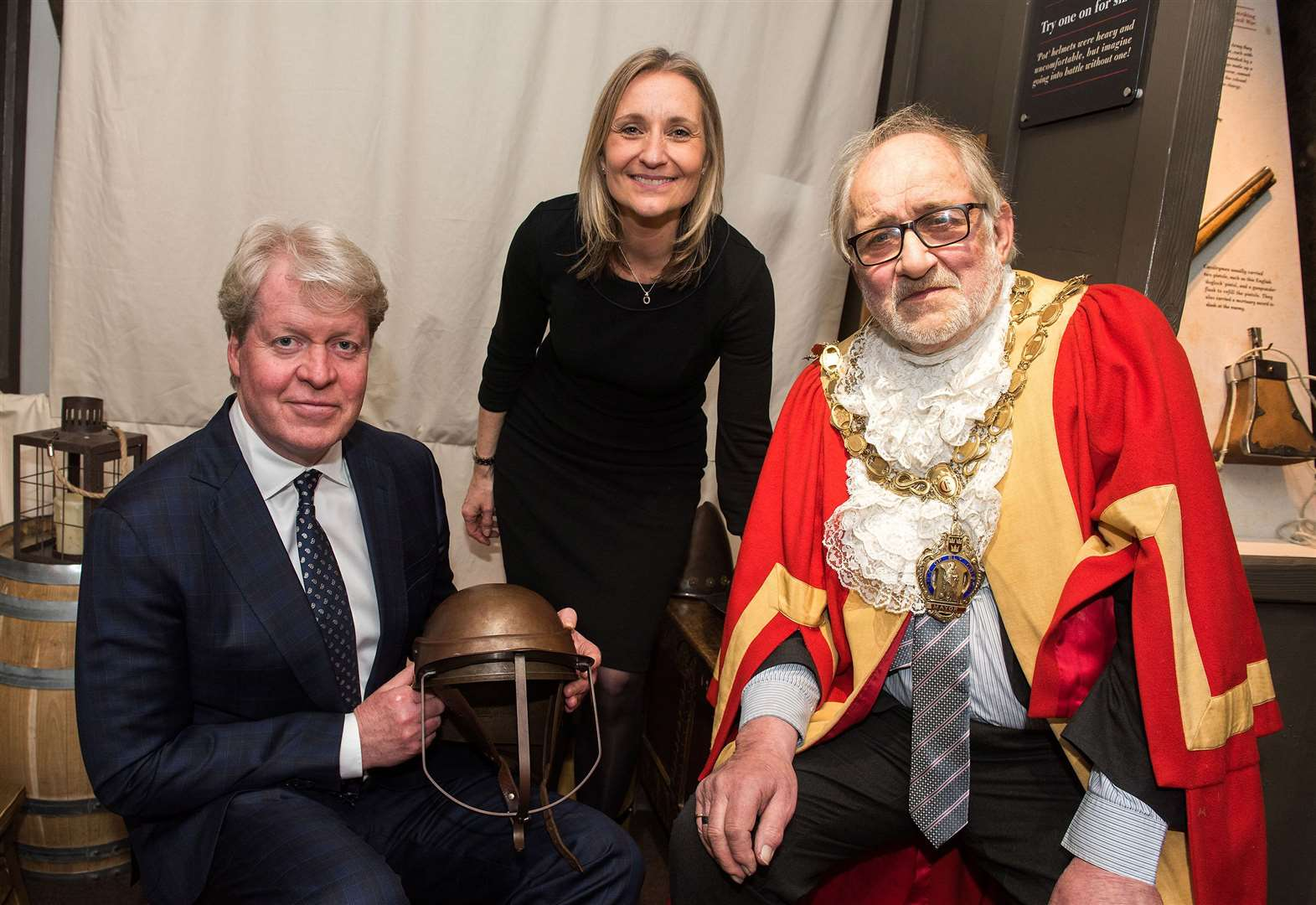 Cromwell's house is re-opened by Earl Spencer