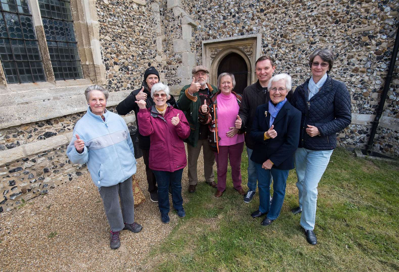 Cheveley church's bid for improvement grant to be featured in BBC television show