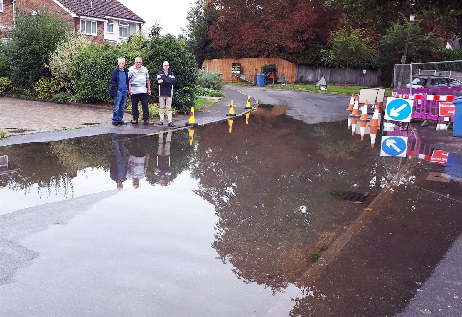 Anger after county council deems flood risk site in Long Melford 'not severe enough' for fix