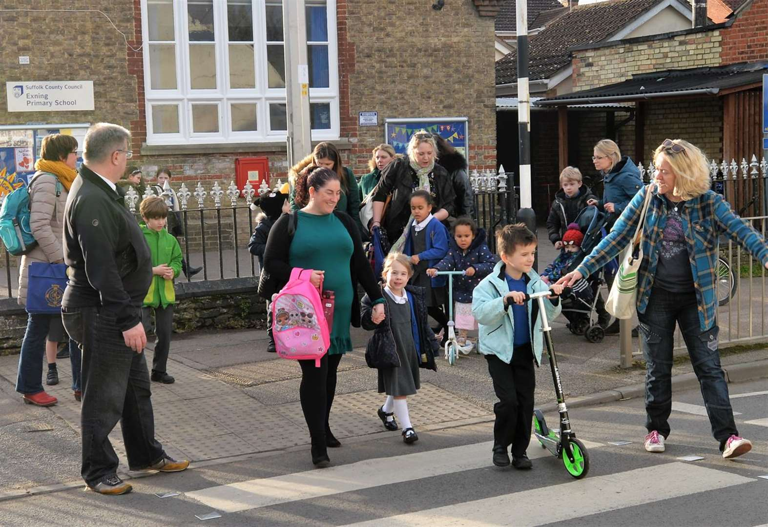 Parents urge action on crossing safety